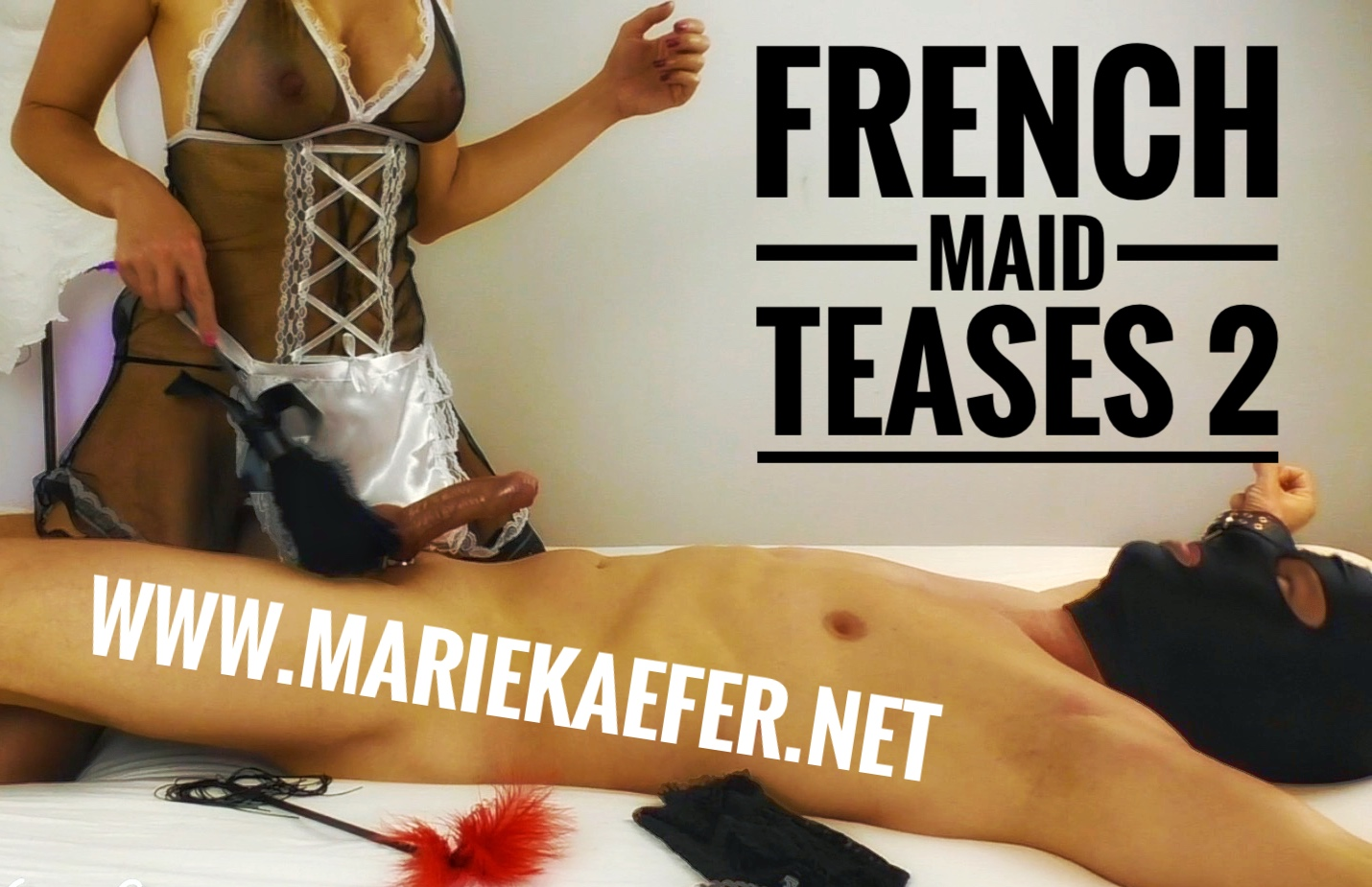 French Maid Teases 2